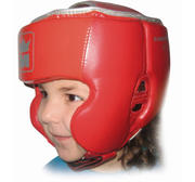 Montana KIDS Head Guard Red