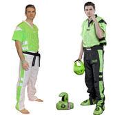 Topten Kickboxingsuit, Neon Mesh