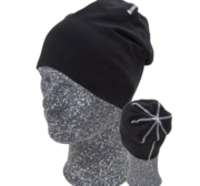 Hugin Beanie, Black/White One size
