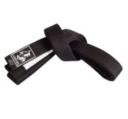 Century BJJ Belt, Black/White 4,5 cm