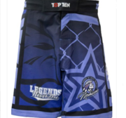 "Topten MMA Board Shorts ""Mohicans"" Blue"