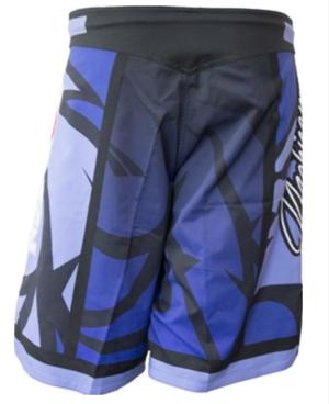 """Topten MMA Board Shorts """"Mohicans"""" Blå"""