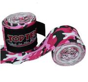 Topten Handwrap Elastic Camo Pink/White 2,5m