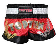 Topten Thaiboxingshorts Pro, Red