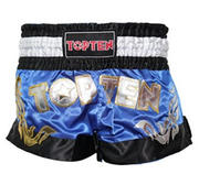 Topten Thaiboxingshorts Pro, Blue