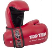 Topten Open Hand Pointfight, Red S-XL