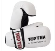 Topten Open Hand Pointfight, White S-XL