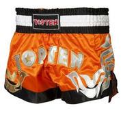 Topten Thaiboxningshorts Pro, Orange