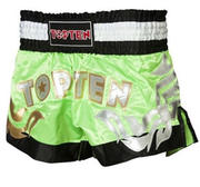 Topten Thaiboxingshorts Pro, Green