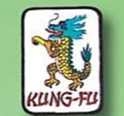 Patch Kung-fu Dragon White