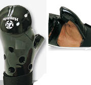 Hayashi Handprotection PU, Black XS-XL