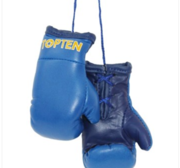 Mini boxing gloves Topten, Blue