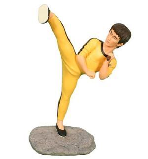 Kampsportsfigur Bruce Lee