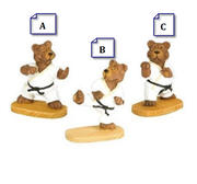 Mini Martial Arts Bears
