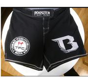 Booster Trunks MMA 17 TYRESÖ , Short model Black