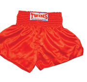Twins Thaishorts One-colour, Red