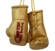 Mini boxing gloves Topten Gold