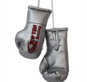 Mini boxing gloves Topten Silver