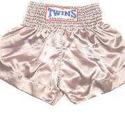 Twins Thaishorts One-colour, Silver