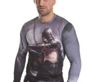 "Topten ""Warrior""  Rashguard Longsleeve, Medium"