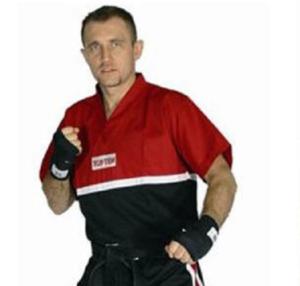 Topten T-shirt Superfight, Röd/Svart 170 cm