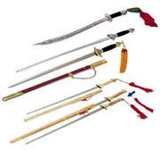 Hayashi Tai-Chi Sword Double Aluminium 97 cm (21 year)