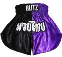 Blitz  Kids Thaishorts Lila/Svart