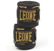 Leone Legionarius Handwrap Elastic 3,5 m, Black/Gold