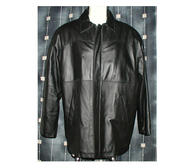 Leatherjacket Monte Carlo, Black X-Large