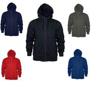 Changer Basic Long Zip Hood