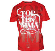 Topten T-shirt MMA Red