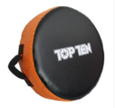 "Topten Round ""Jumbo"" mits, Black/Orange"