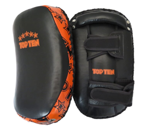 "Topten Kurvad Thai mits ""Heavy"" Svart/Orange (Styck)"