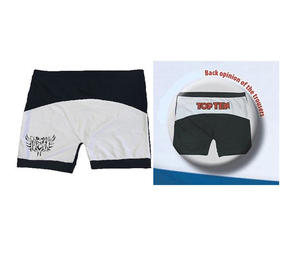 Topten Fight shorts, Svart/Vit, 160 cm