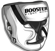 Booster Pro Range Full Face Protection Headguard, Small White