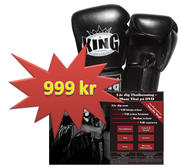 SET DVD + King Thaiboxglove,12 oz