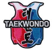 Embridered Patch, Taekwondo vest