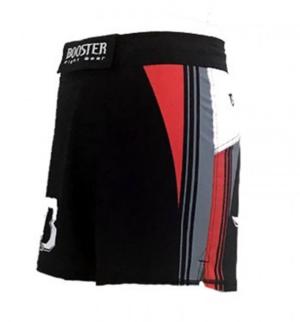 Booster Shorts MMA 23, Kort modell Svart