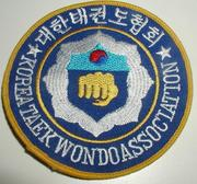Patch Korea TKD