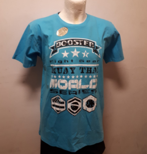 Booster T-Shirt Blå, Large