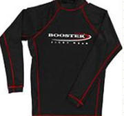 Booster Rashguard FIGHT long arm Black, Large