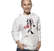 "Hayashi Hooded Sweatshirt ""Ronin"" Vit"