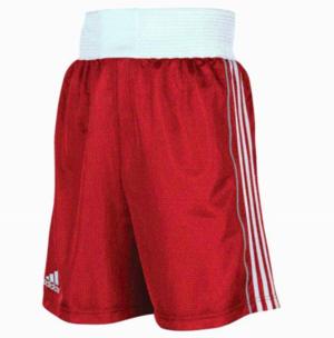 B8 Adidas Boxningsshorts Röd X-Large