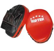 Topten Coach Mitts Red/Black(pair)