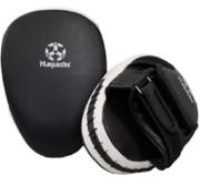 Hayashi Coach Mits, Black/White (pair)