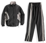 Sandryds Santa Monica Tracksuit, X-Large Black/Grey
