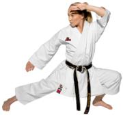 WKF Hayashi Tenno Yama Karate Kata GI White