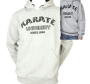 "Hayashi ""Karate University"" Hood, Grey XL"