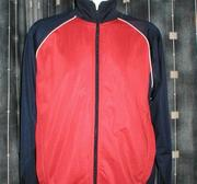 Clique Tracksuit WCT Mason, Red/Navy