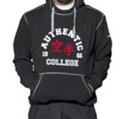 "Hayashi ""Karate College"" Hood, Svart"